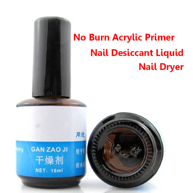 1 Bottle Nail Desiccant Removing Grease Paint Acrylic Acid Free