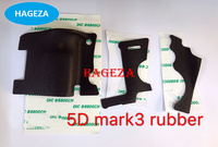 New Original 5D MARK III 5D MARKIII 5DIII 5D3 Body Rubber 3 pcs Front Back Cover Rubber For Canon 5D MARK III SLR