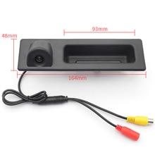 Для sony ccd Автомобильная камера заднего вида для BMW ствол ручки переключателя парковка Камера F10 F11 F25 F30 BMW 5 BMW 5/3 X3