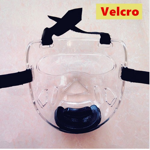 taekwondo karate face mask protector environmental material kids adult fitness sport headgear Removable helmet mask