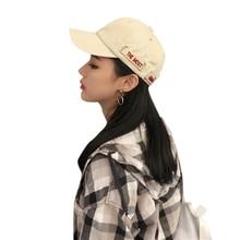 Fashion Concise sun hat  Casual Cotton Hat Letter Print Unisex Women Men Hats Baseball Cap