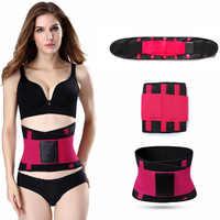 Las mujeres formadores de las mujeres caliente cintura entrenador adelgazamiento Shaper cinturón Cinta Modeladora fajas firme Control corsé cintura tamaño