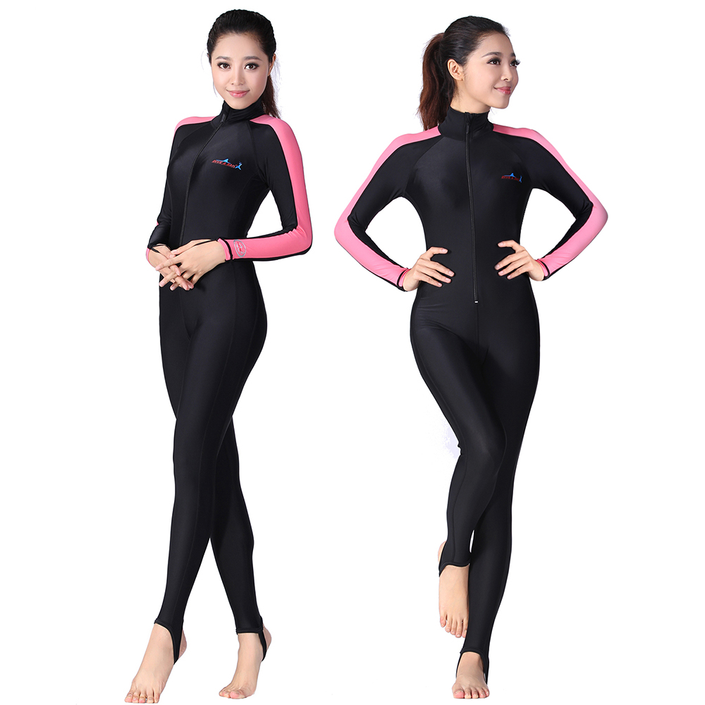 fe0ecde2c3 Men Wetsuit Full Body Diving Swimming Surfing Spearfishing Wet Suit UV  Protection Snorkeling Surfing Swimming Suit dive suit-in Wetsuit from  Sports ...