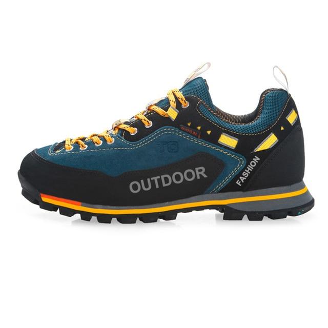 Hommes chaussures de sport de plein air respirant antidérapant chaussures de randonnée résistant à l'usure PX0Lf