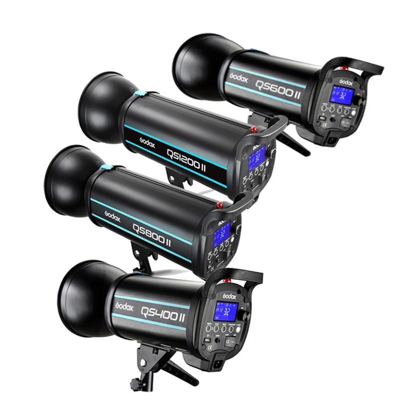 Godox QS400II 400WS QS600II 600WS QS800II 800WS QS1200II 1200WS 2 4G Wireless X System Studio Strobe