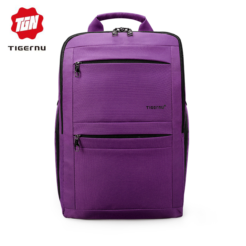 Tigernu 14 To 17 Inch Rucksack Women Backpacks For Teenage Girls Mochila Trend Schoolbag Female Anti Theft Laptop Back Bag Pack
