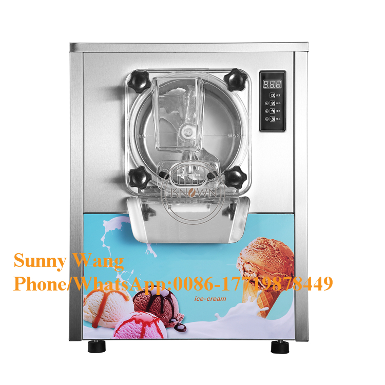16-20L/h Hard Ice Cream Machine/ Italian Ice Cream Machine/ Gelato Making Machine
