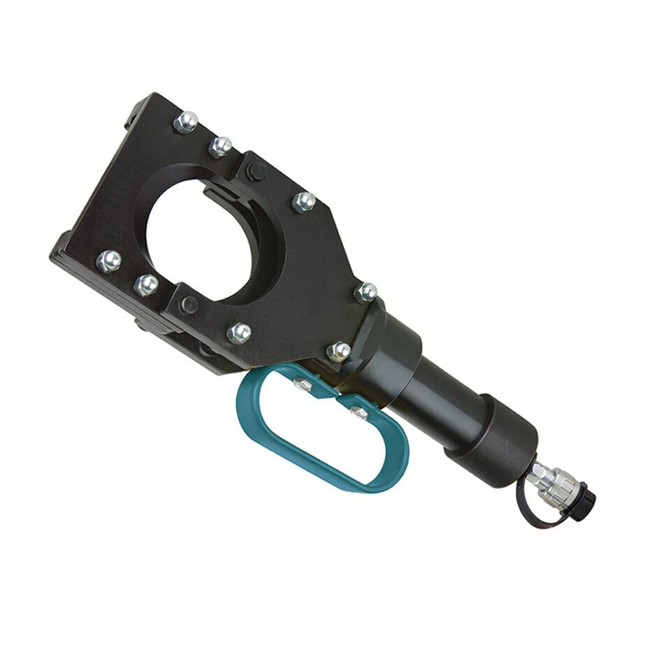 Coupeur de câble blindé hydraulique fendu de CPC-85B diamètre maximum 85mm travail de coupe de tête de coupe avec la pompe