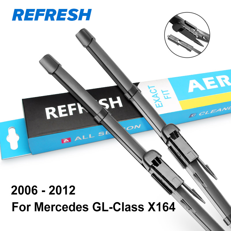 REFRESH Щетки стеклоочистителя для Mercedes Benz GL Класс x164 x166 GL 350 400 450 500 550 63 AMG BlueEFFICIENCY - Цвет: 2006 - 2012 ( x164 )