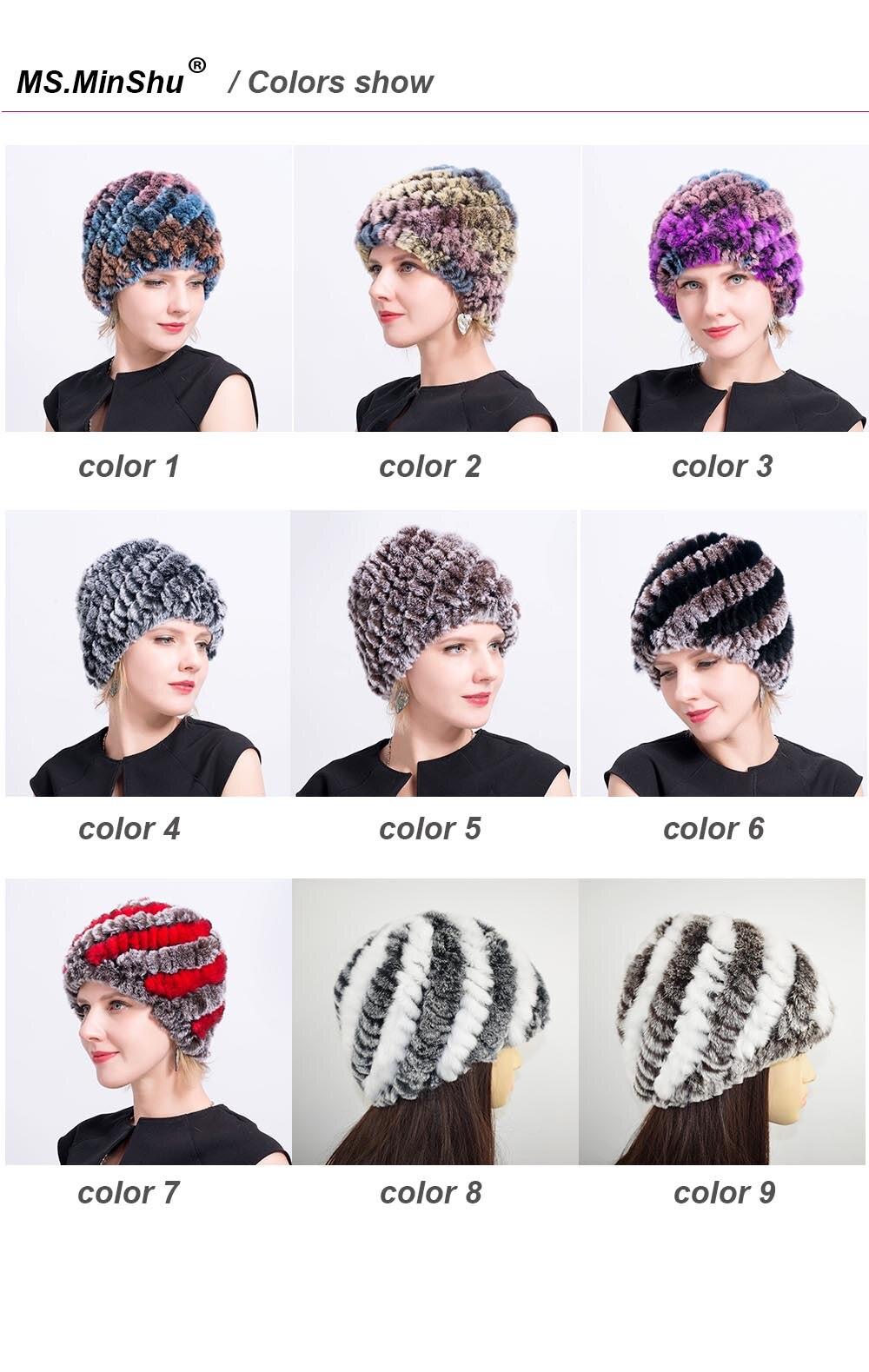 fur beanies women colors chart