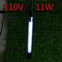 110 вольт UVC стерилизующая лампа ультрафиолетовая лампа бактерицидная лампа CFL воздуховод свежего воздуха чистые клещи плесень бактериальны...
