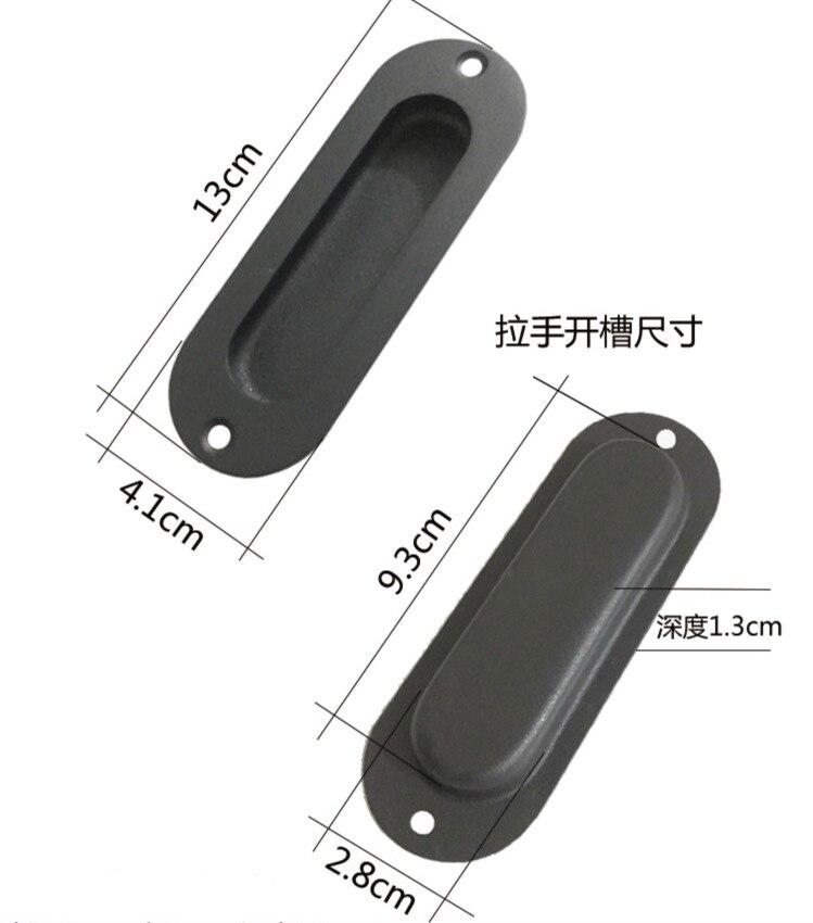 2pcs/lot Industrial style LOFT Wood  Slide Door Drawer Handle2pcs/lot Industrial style LOFT Wood  Slide Door Drawer Handle