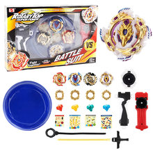 Tops 12 set Beyblade Arena Spinning Top Metal Fight Bey blade Metal Fusion Bayblade Stadium Children Gifts Classic Toy For Child(China)