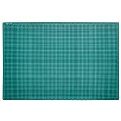 Tapete de corte multiusos con diseño de telas combinadas de PVC A1, tabla de corte de doble cara autocurativa para grabado de placas de 60x90 cm