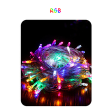 AC220V LED String light 100M LED string Fairy light holiday Patio Christmas Wedding decoration Waterproof outdoor light garland цена