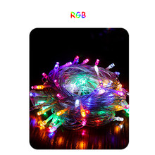 AC220V LED String light 100M LED string Fairy light holiday Patio Christmas Wedding decoration Waterproof outdoor light garland(China)