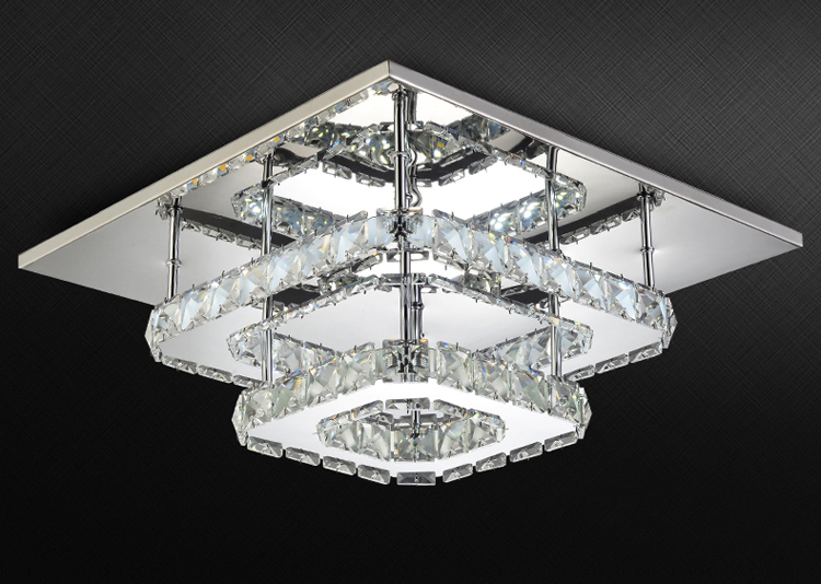 HTB1gtINXcnrK1RjSspkq6yuvXXav Modern Crystal LED ceiling light Fixture For Indoor Lamp lamparas de techo Surface Mounting Ceiling Lamp For Bedroom