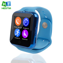 Hestia c88 reloj bluetooth smart watch armbanduhr sport pedometer sim-karte montre inteligente smartwatch android ios telefon