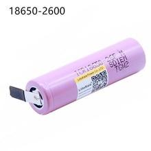 1 PCS New For ICR18650-26FM 18650 2600 mAh 3.7V Li-ion Battery Rechargeable Battery цена и фото