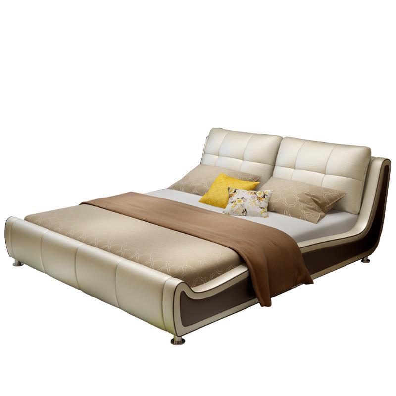 Moderna Totoro Box Literas Mobili Per La Casa Lit Enfant Kids Modern Leather bedroom Furniture Cama Mueble De Dormitorio Bed