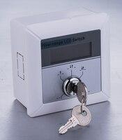 Dooren 자동 도어 프로그램 5 가지 기능 키 스위치  lcd가있는 자동 도어 키 선택기