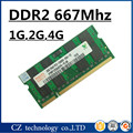 Promoción 1 gb 2 gb 4 gb 8 gb ddr2 667 Mhz pc2-5300 laptop so-dimm, de memoria ram ddr2 2 gb 667 pc2 5300, sodimm ddr2 2 gb 667 mhz