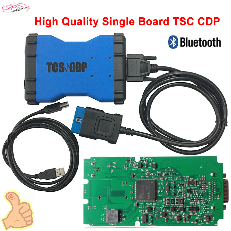 TCS CDP Pro Plus High Quality Single green board with Bluetooth+Keygen TCS CDP PRO Plus OBD2 Scanner 12V/24V CAR+TRUCK Free ship fast free ship new beaglebone green single board computer arm development board compatible with grove sensor demo board