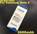 5600 mah batería eb-bn910bbe para samsung galaxy note 4 n910a n910c n910h n910u eb-bn910bbe n910t nota4 n910f n910x