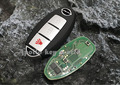 Smart Remote Key Control 3 Button For Nissan Old Tiida Teana 315Mhz With ID46 Chip Car Alarm Keyless Entry Fob
