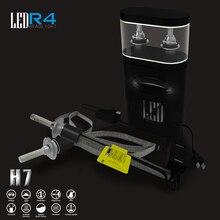 R4 4800lm/bulb 9600lm/set Car LED Headlight Kit H1 H3 H4 H7 H9 H11 9004 880 9005 HB3 9006 HB4 9007 9012 H13 DRL Fog HEADLIGHT
