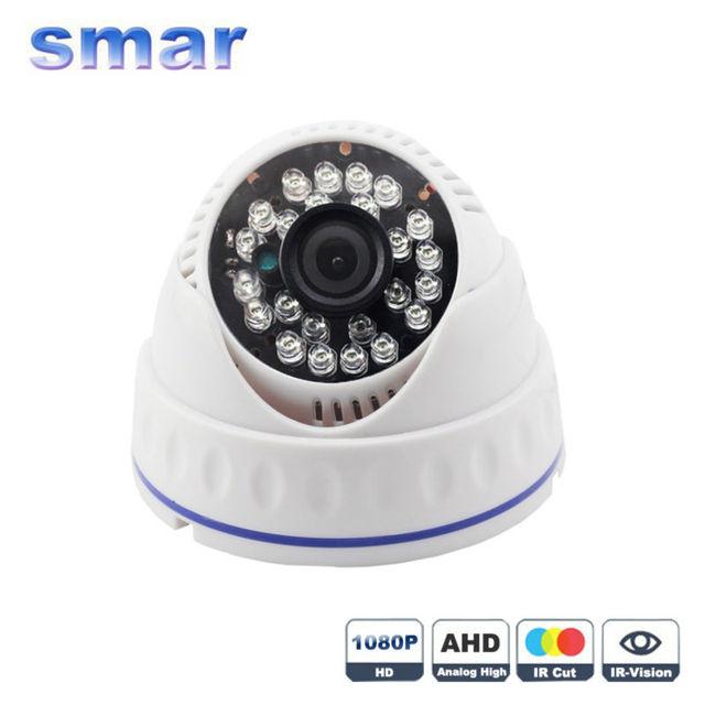 2017 Lleno Más Nuevo de HD 1080 P AHD Cámara 1/3 2210 Sensor AHDH resolución Con 3.6mm Lente 24 Led Infrarrojos CCTV 2.0MP Casa Mejor precio