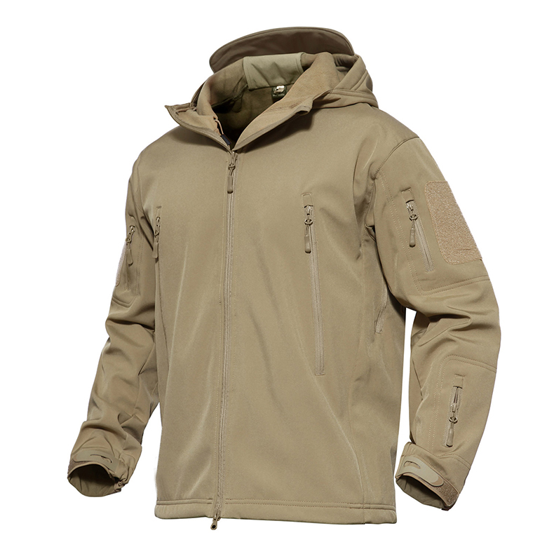 TACVASEN Softshell Tactical Jacket Men Winter Camouflage Army Combat Hooded Jackets Airsoft Military Hunt Clothing TD-YCXL-038