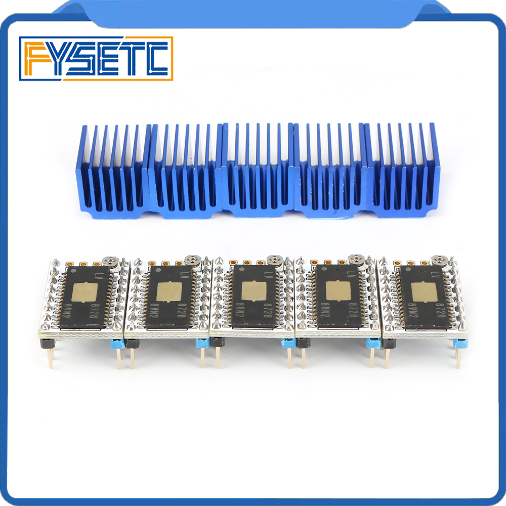 5pcs LV8728  Stepstick Stepper Motor Driver Up To 2.2A Peak Drive Current AS S6128 Driver Replace SD8825 A4988 A4983 LV8729
