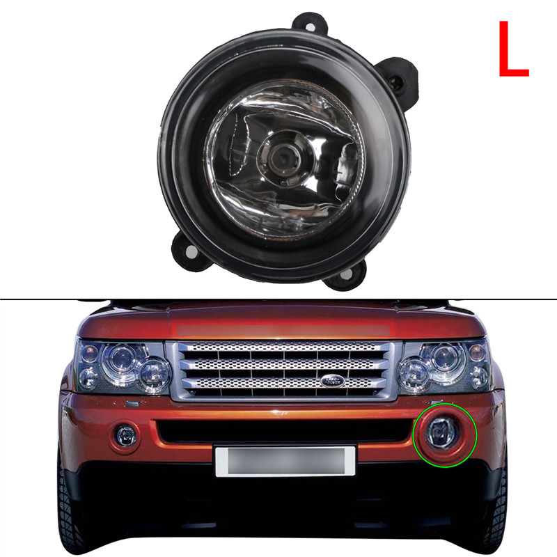 Left Right Side Front Fog Light For LAND ROVER DISCOVERY 2 /3 Range Rover 2003-2004 LR Sport Auto Fog Lamp C/5 for land rover tdv6 discovery 3 4 range rover sport oil pump lr013487