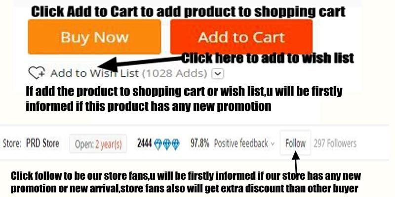 add to cart wish list