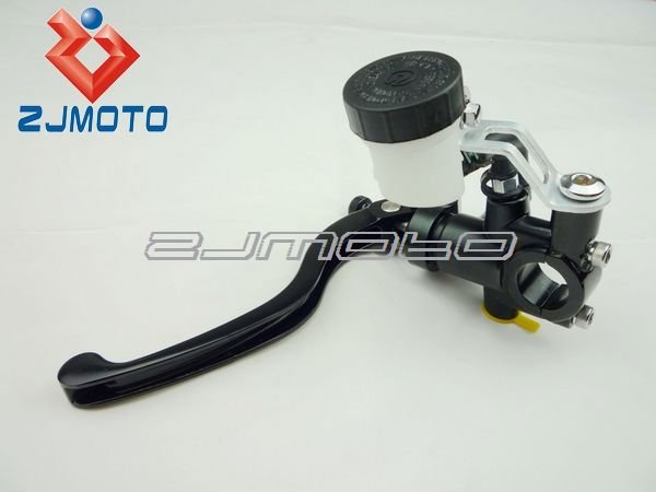 ZJMOTO Motorcycle 16RCS Forged Clutch Master Cylinder With hydraulic Clutches or Rear brake And Adjustable Lever