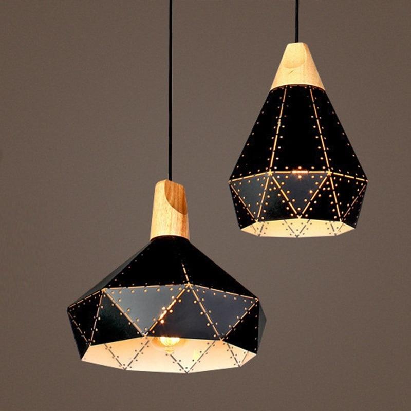 Lámparas colgantes, moderno Iluminación Lámparas, Forma del diamante ...