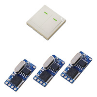 New Arrival Micro Small Remote Control Switches DC Power Supply Mini RF Wireless Switch DC 3V