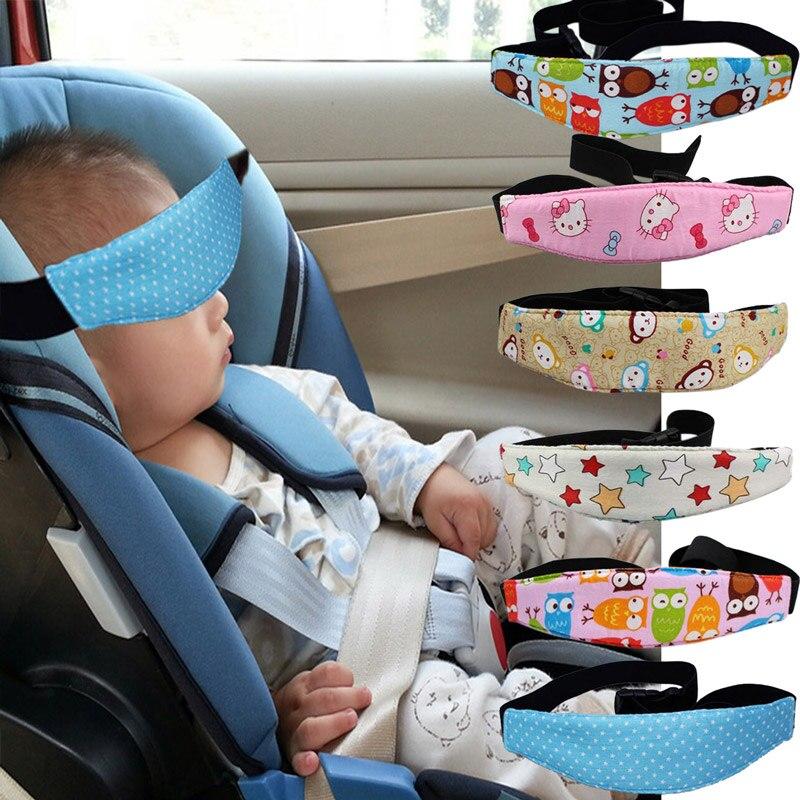 Pram Car Safety Seat Sleep Positioner Baby Head Support Fastening ...