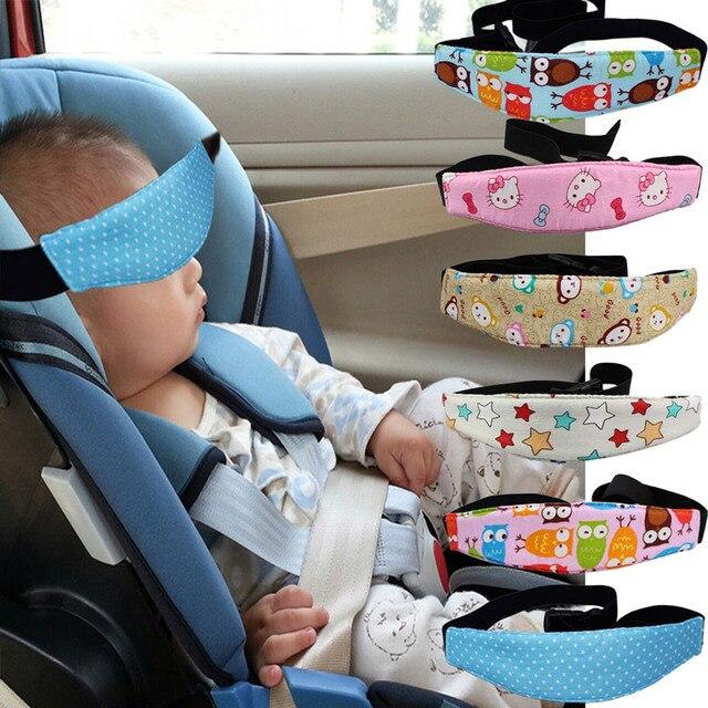Hot Car Safety Seat Sleep Positioner Infants And Baby Head Support Pram Stroller Fastening Belt Adjustable