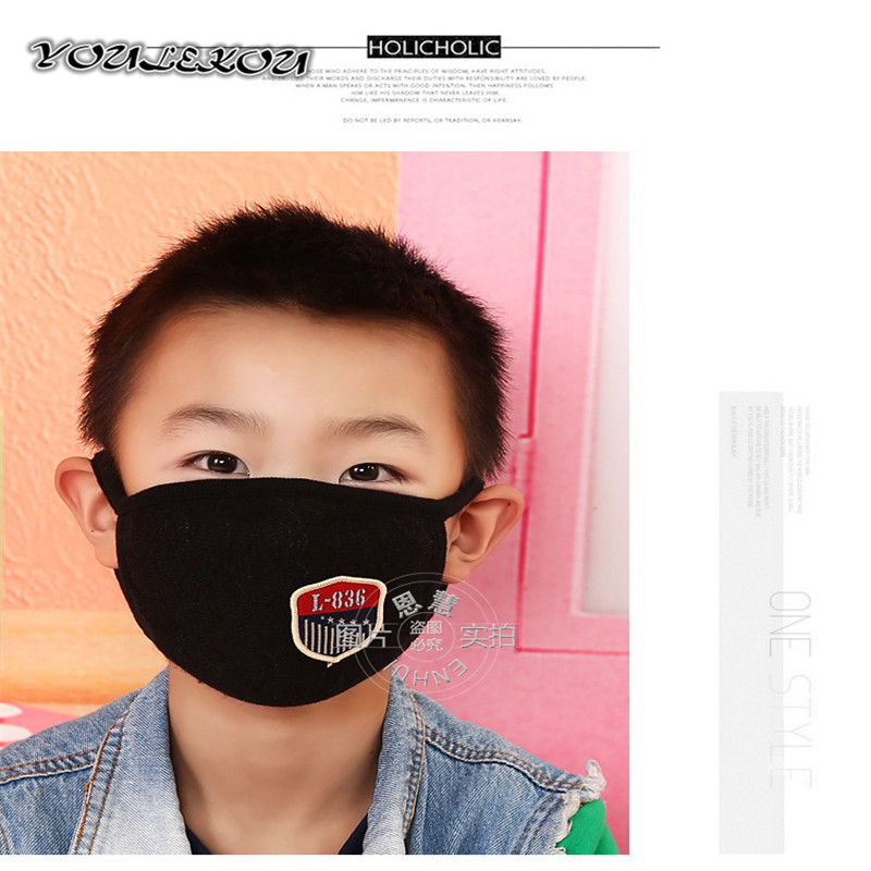 5pcs/Pack BC Men Mask For Mouth Para Carro Orejeras Gauze Masks Ciclismo Cotton Respirator b.a.p kpop Snowboard Mask