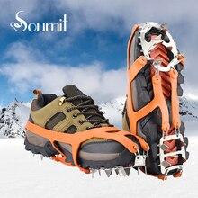Soumit 18 Teetch из нержавеющей стали с противоскользящим нескользящим комплектом для ледяных зажимо Лучший!