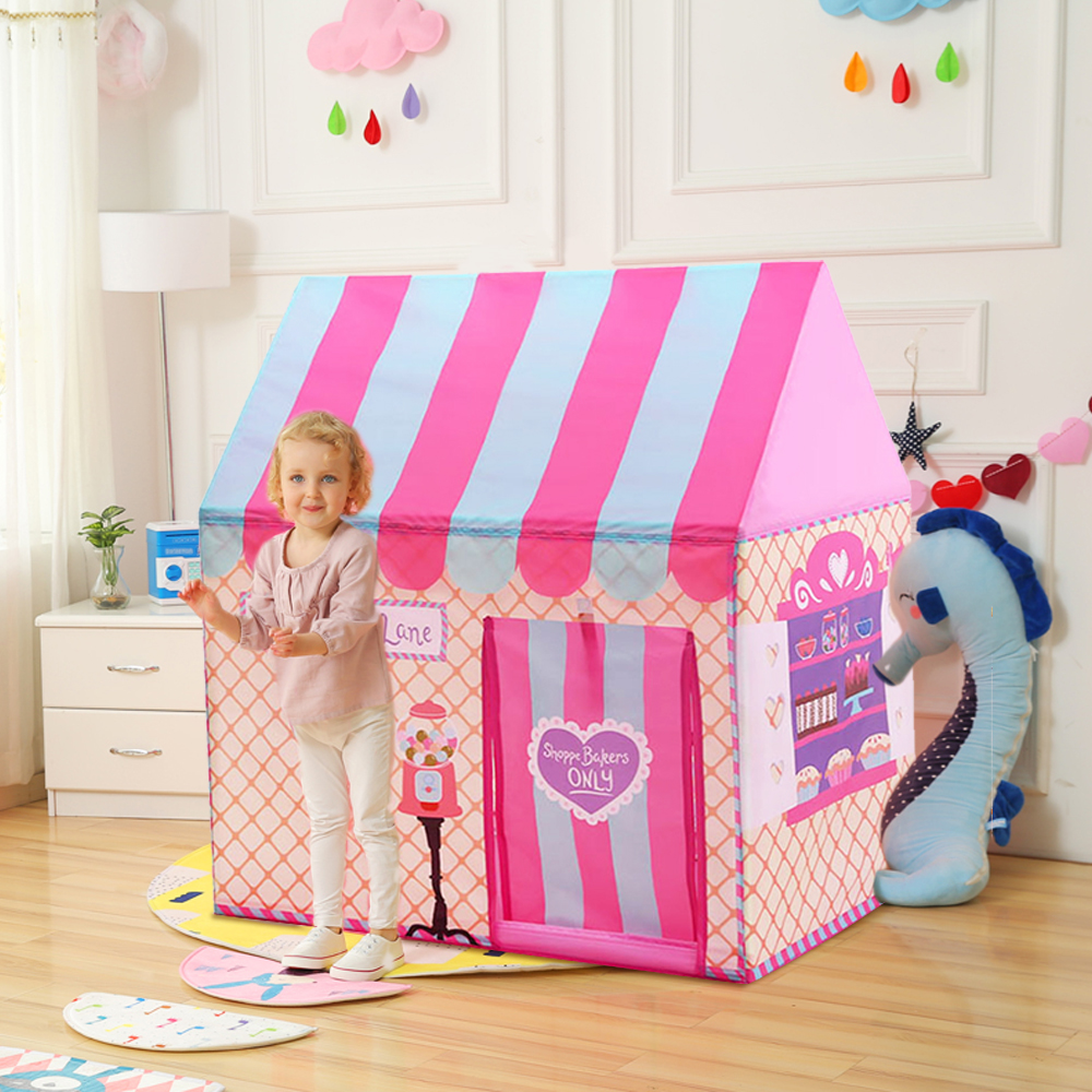 YARD Kids Leker Telt Kids Play Tent Boy Girl Princess Castle Innendørs Utendørs Barn House Play Ball Pit Pool Playhouse
