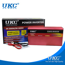 UKC Power Inverter 3000W 12V to 220V For microwave oven,refrigerator,electric drill,cutting machine, water pump ,Electric kettle