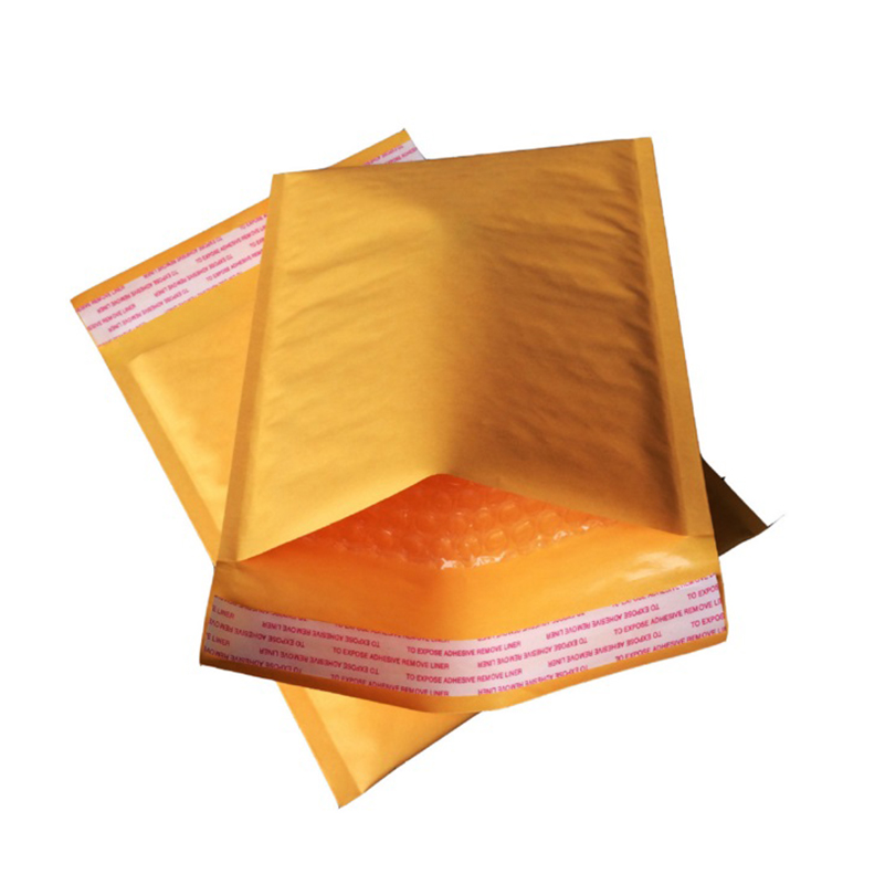 15 Pcs/lot 13 * 13cm +4 cm Bubble Envelopes Paper Mail Bags Yellow Express bags for Shipping Storage