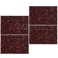 4Pcs Tortoise Shell Square Pickguard Material 43X29cm Guitar Bass Body Project 3Ply Plate