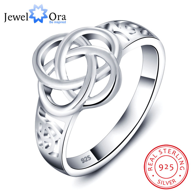 Party Accessories Knot Shape 925 Sterling Silver Rings For Women New Birthday Gift For Her (JewelOra RI101721)
