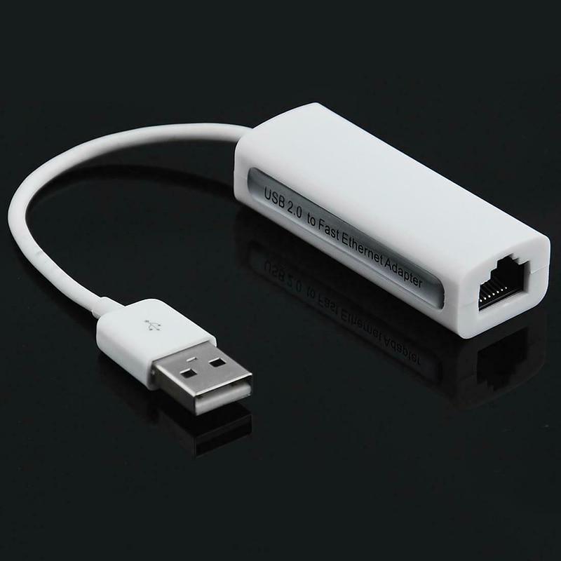 USB 2.0  Adapter To LAN 100Mbps Ethernet RJ45 Antenna Network For Windows 10/8/7/Vista/XP RTL8152 Converter Ethernet