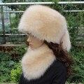 Mulher plus size mais algodão engrosse Skullies & Gorros tampas homem inverno quente proteção de Orelha chapéus masculinos Anti-vento quente de pele cap