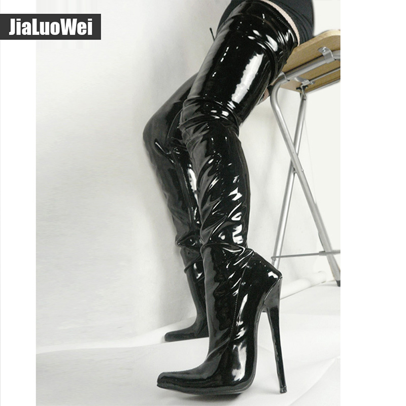 Thigh boots fetish